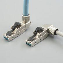 KSP-00002 c6a termination field plug right angled
