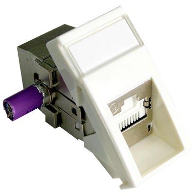 DDTAO 50 PCS RJ45 Shell Housing 15mm Connector Without LED Light H Type No Shrapnel