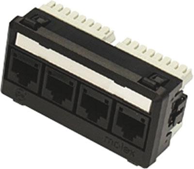 Powercat 6 utp mod snap module white molex powercat 6 utp mod snap module white publicscrutiny Choice Image
