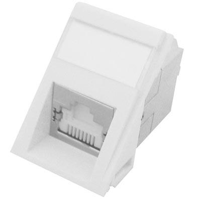 Powercat 6 utp mod snap module white molex modu mod snap ii dg c6a 1xrj45 568ab ktowy stp powercat c6a czarny publicscrutiny Choice Image