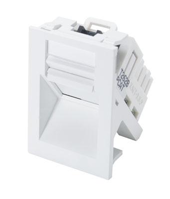 Powercat 6 utp mod snap module white molex powercat angled mod snap module 568b white publicscrutiny Choice Image