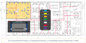 conventional cabling office layout 1
