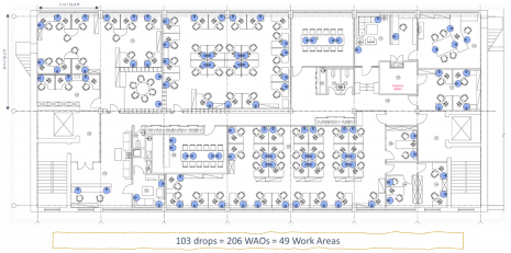 zone cabling office layout 2