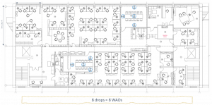 zone cabling office layout 6